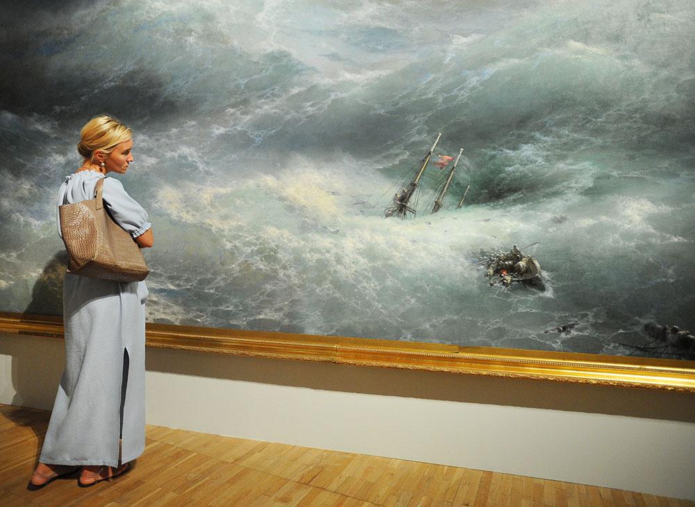 Выставка картин Ивана Айвазовского
