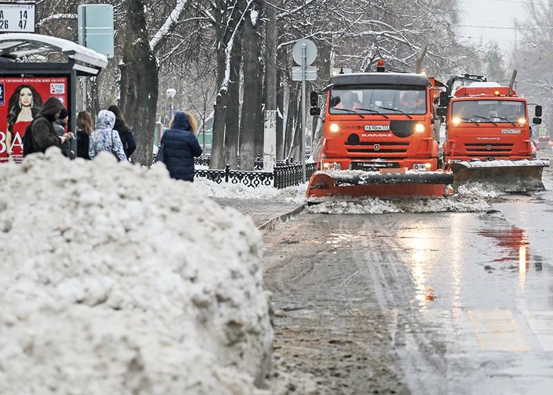 Снегоуборочная техника в Москве