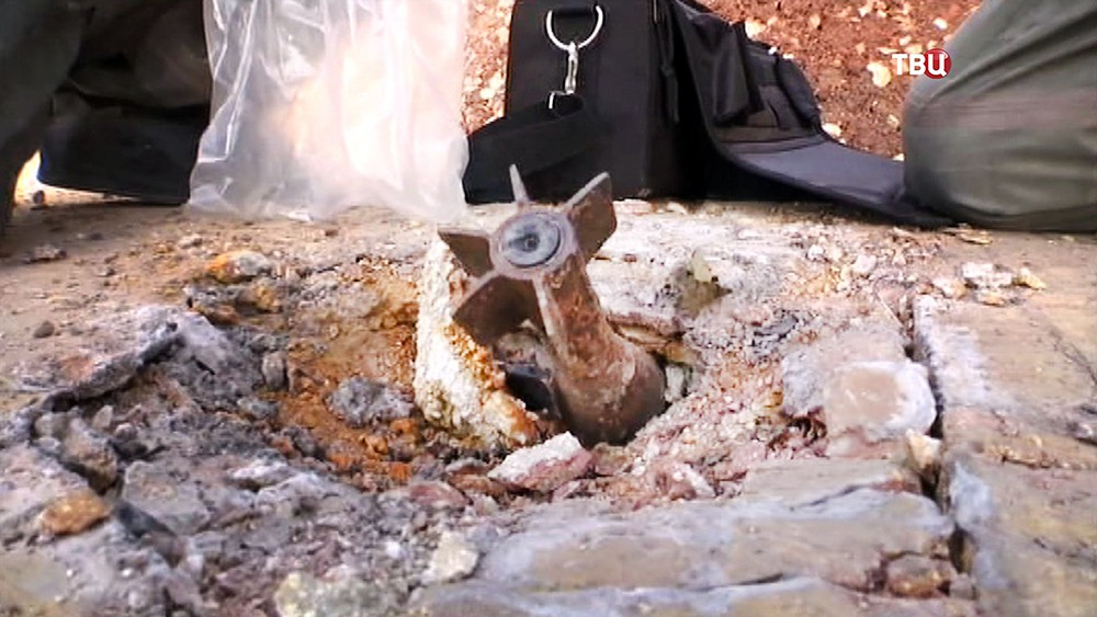 Хвостовик минометного снаряда