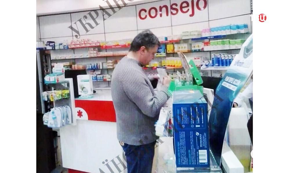 Пётр Порошенко в Испании