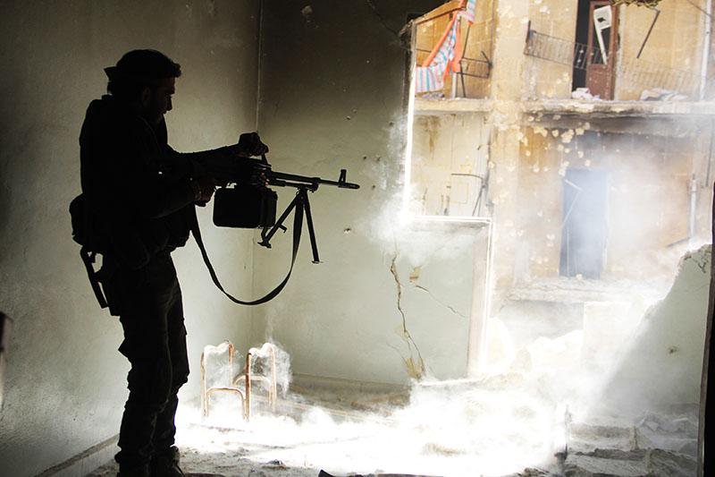Боевые действия в Сирии. Город Алеппо