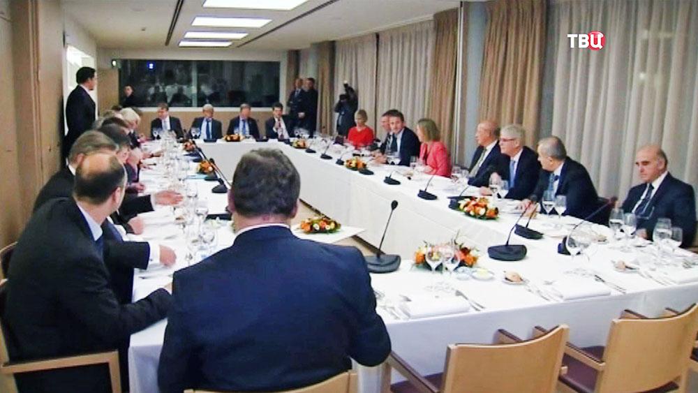 Саммит министров иностранных дел стран ЕС