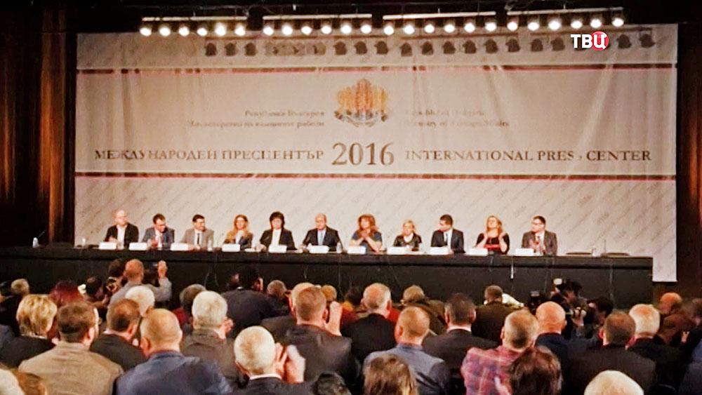 Заседание Болгарской социалистической парти