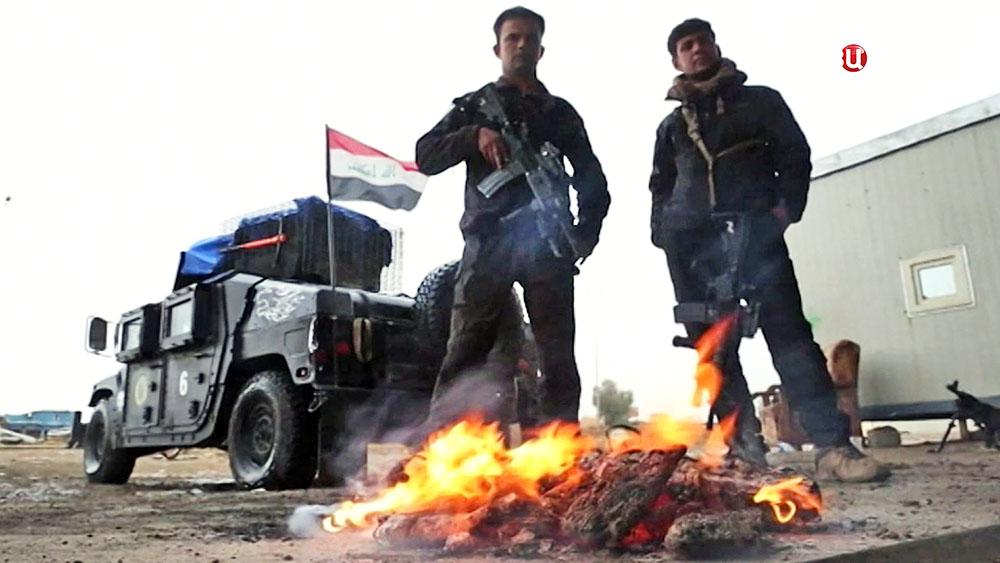 Солдаты Иракской армии