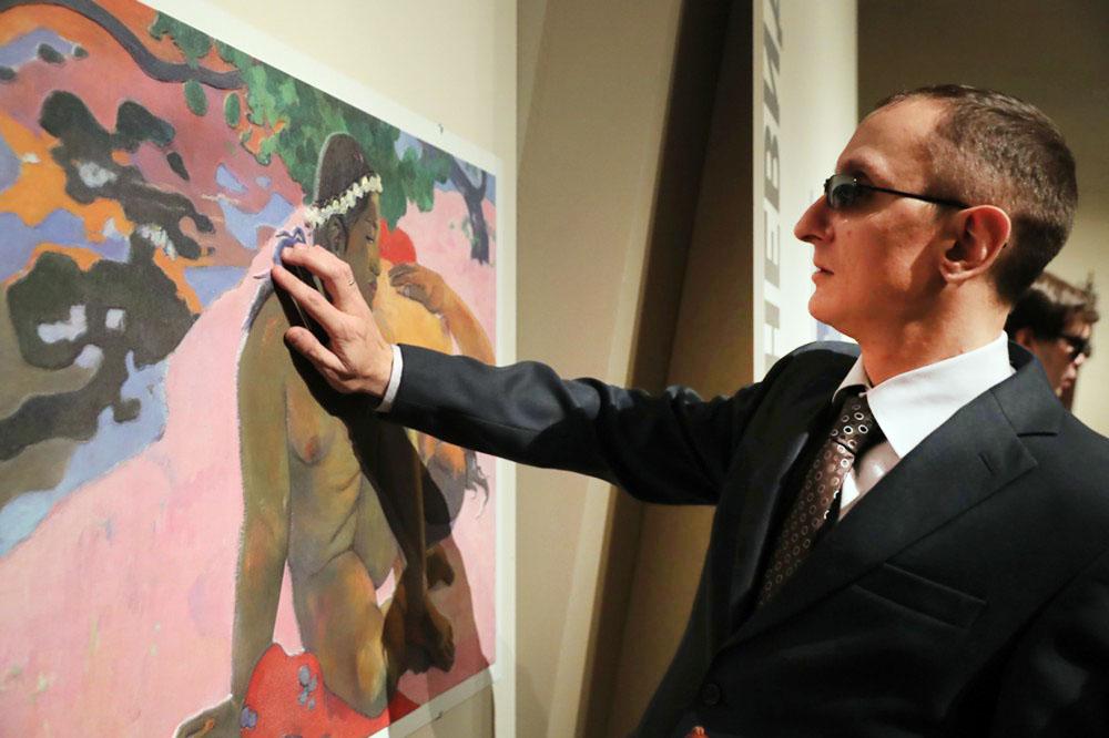 Выставки тактильных картин