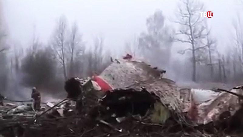 ВПольше эксгумировали останки погибшего президента Качиньского
