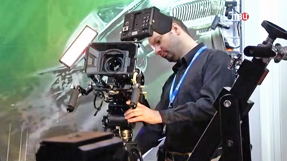 Выставка технических достижений в области телевидения