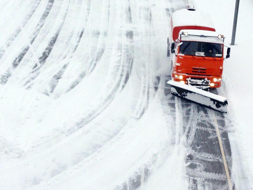 Устранения последствий снегопада