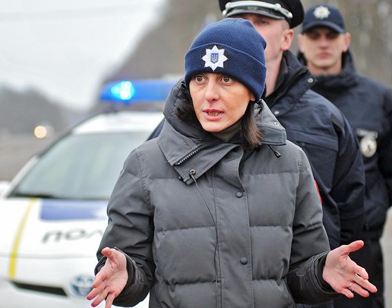 Экс-глава Нацполиции Украины Хатия Деканоидзе