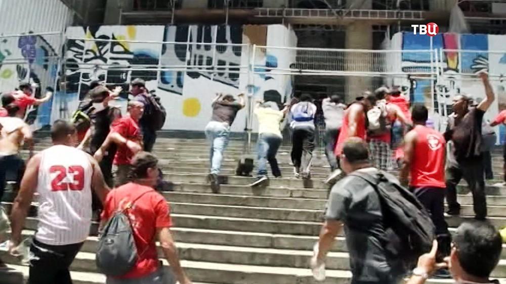 Уличные беспорядки в Бразилии