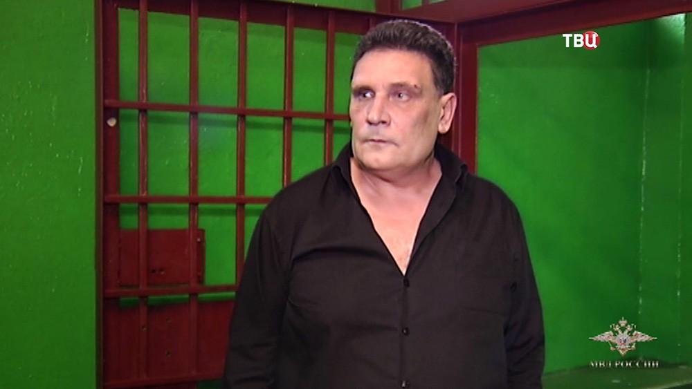 Задержанный организатор подпольного казино