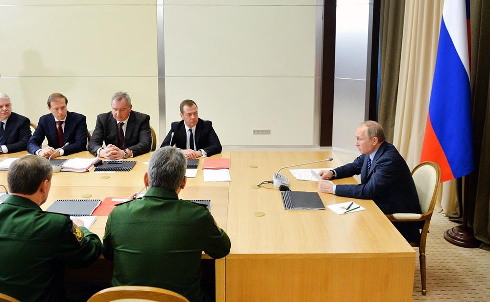Путин объявил оразработке лазерного игиперзвукового оружия в Российской Федерации