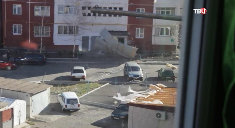 Ураган в Карачаево-Черкесии