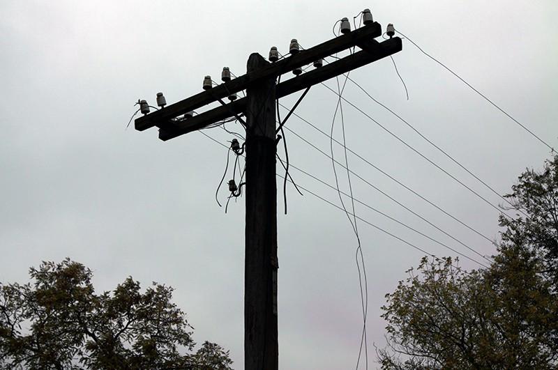Обрыв линии электропередач