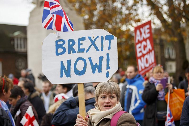 Демонстрация в Великобритании