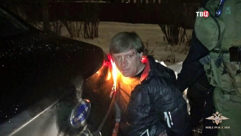 Задержание таксиста-клофелинщика