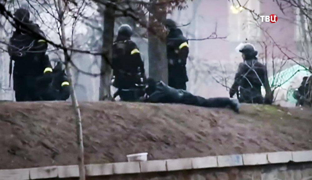 Беспорядки на Майдане в 2014 году