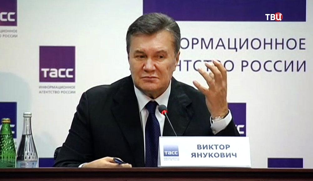 Янукович: Лидеры Майдана должны выступить всуде