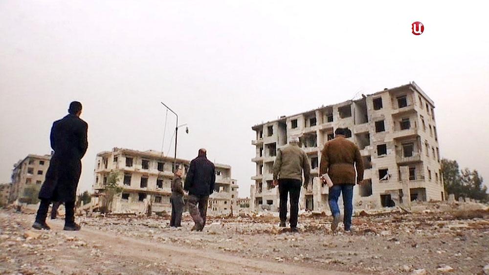 Сирия. Город Алеппо