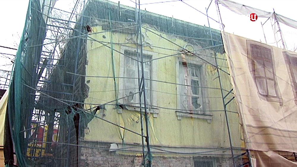 Реставрация особняк адвоката Мануйлова