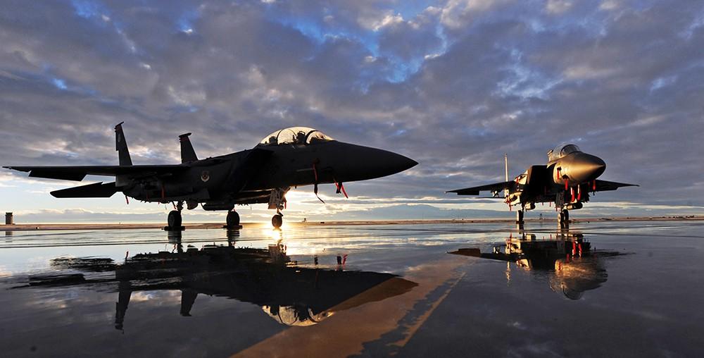 Истребители F-15 ВВС США