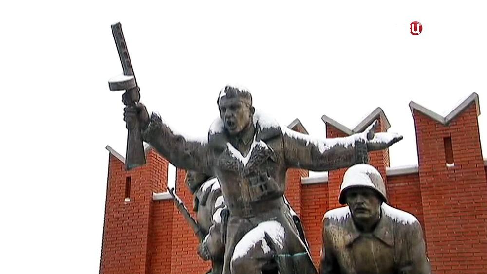 Памятник Сибирякам-защитникам Москвы