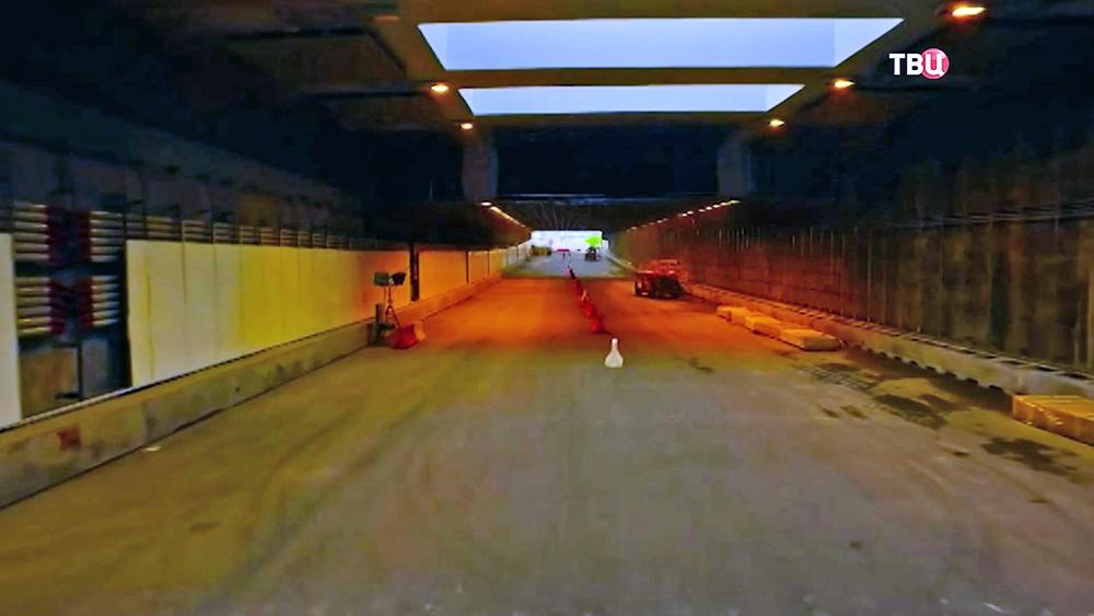 Скоростная магистраль ЗСД в Санкт-Петербурге