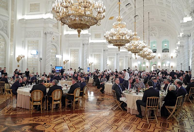 Ежегодный торжественный приём в Кремле по случаю празднования Дня Героев Отечества