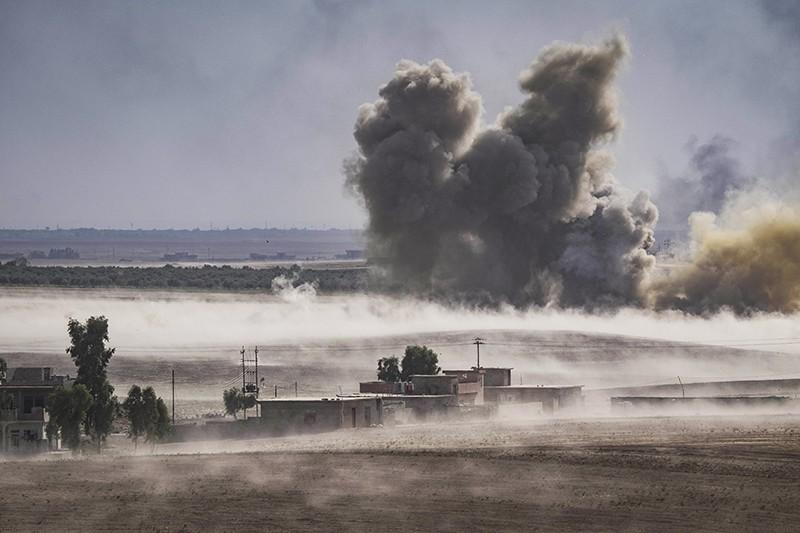 Авиаудар в Мосуле, Ирак