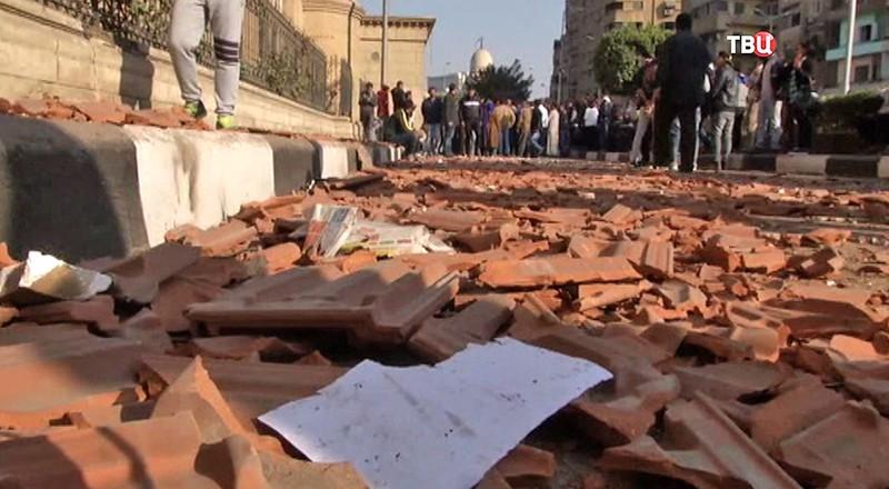 Взрыв в коптском соборе Каира