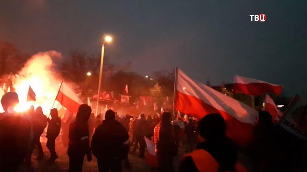 Марш польских националистов