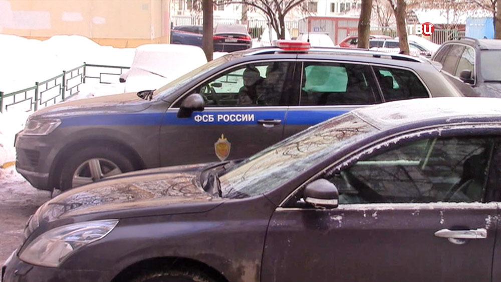 Автомобиль ФСБ