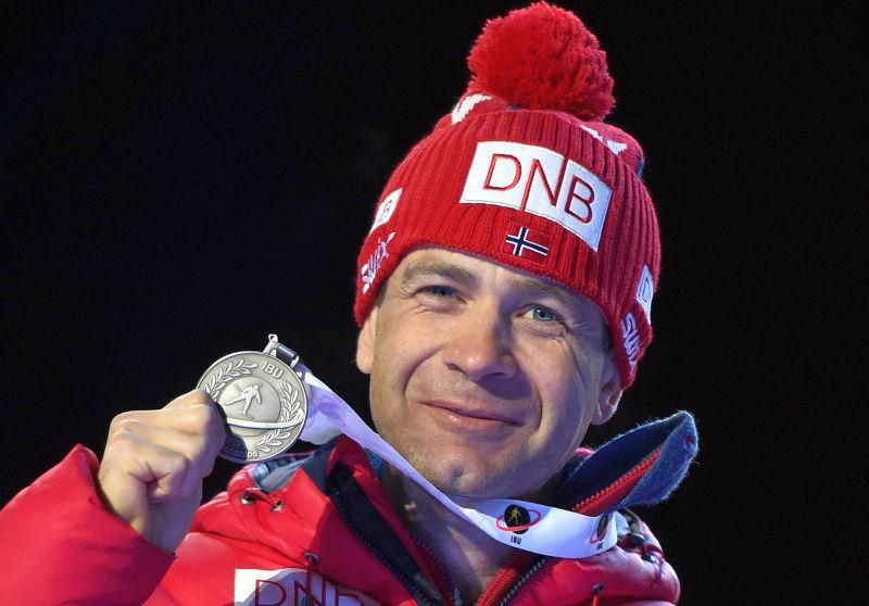 Норвежский биатлонист Уле-Эйнар Бьорндален
