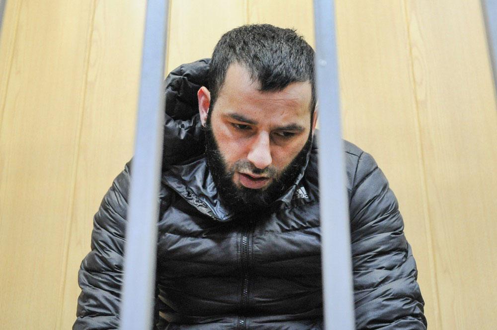 Арестованный по делу о подготовке терактов в Москве Тамерлан Цечоев