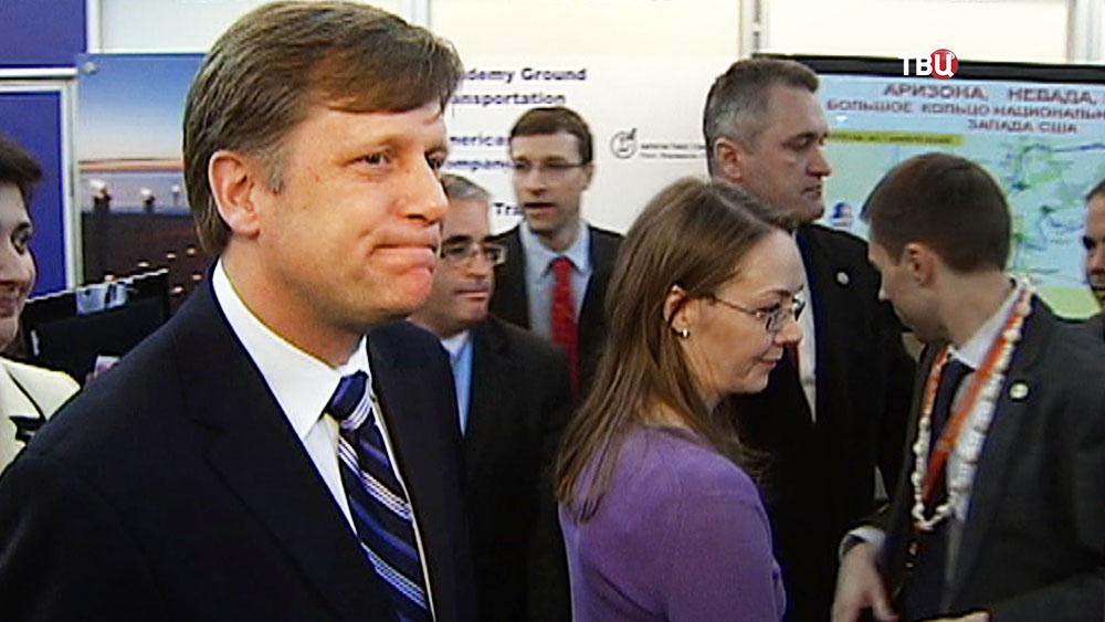 Бывший посол США в России Майк Макфол