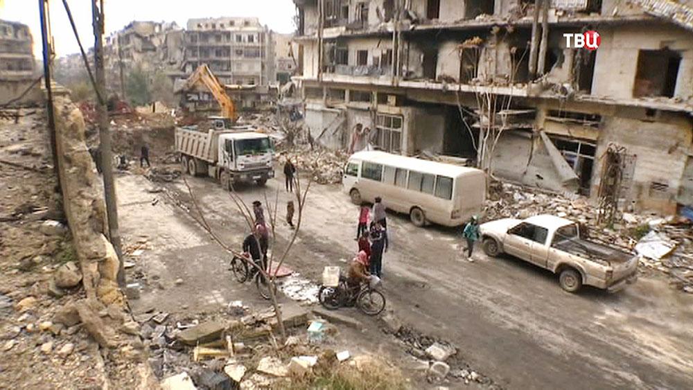 Город Алеппо. Сирия