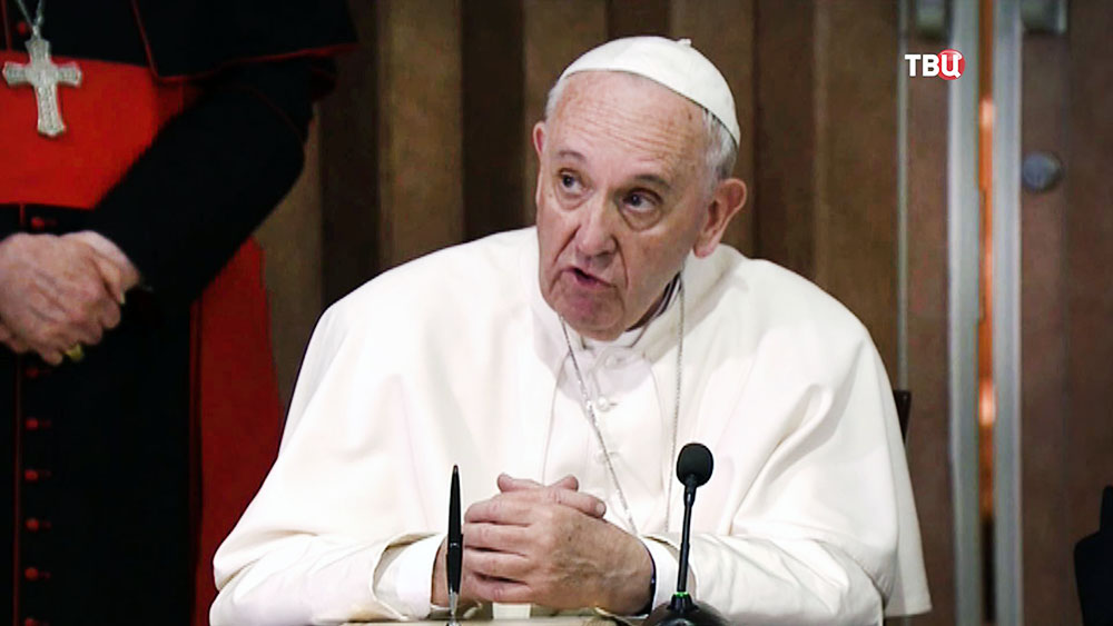 Путин поздравил папу римского Франциска с 80-летним юбилеем