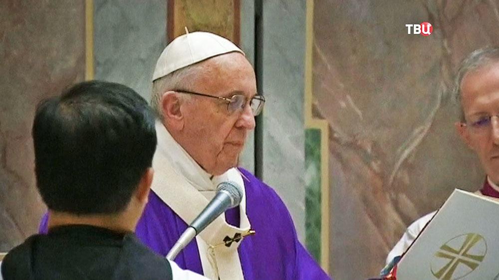 Посол Ватикана: Папа римский желает приехать вДонбасс