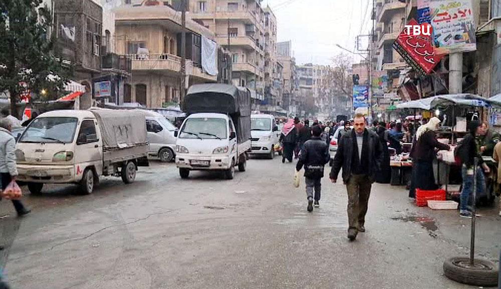 Улицы Алеппо. Сирия