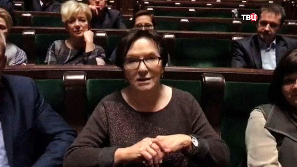 Экс-премьер-министр Польши Эва Копач