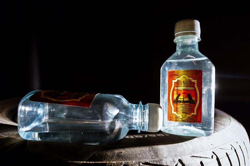 Емкости со спиртосодержащим средством с боярышником