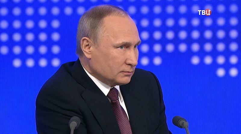 Путин: Российская Федерация сумеет занять иудержать лидерские позиции вомногих главных областях