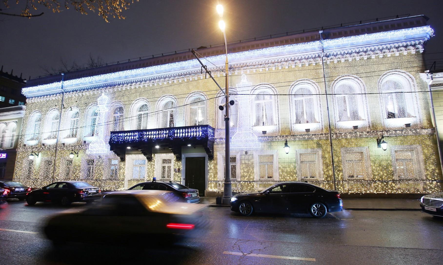 ВКремле поведали обигре В. Путина в«геополитические шахматы»