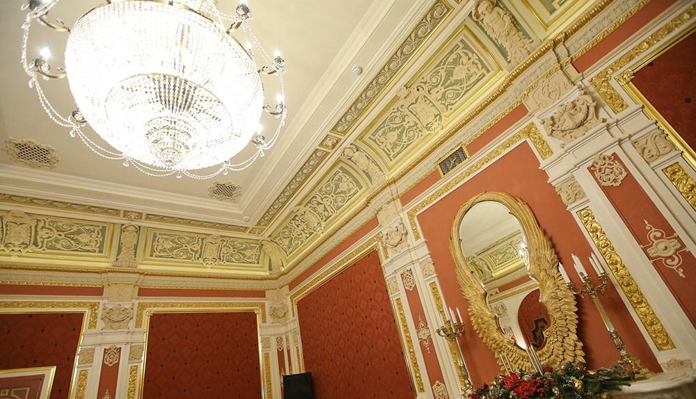 Открытие после реставрации Центрального дома шахматиста им. М.Ботвинника на Гоголевском бульваре