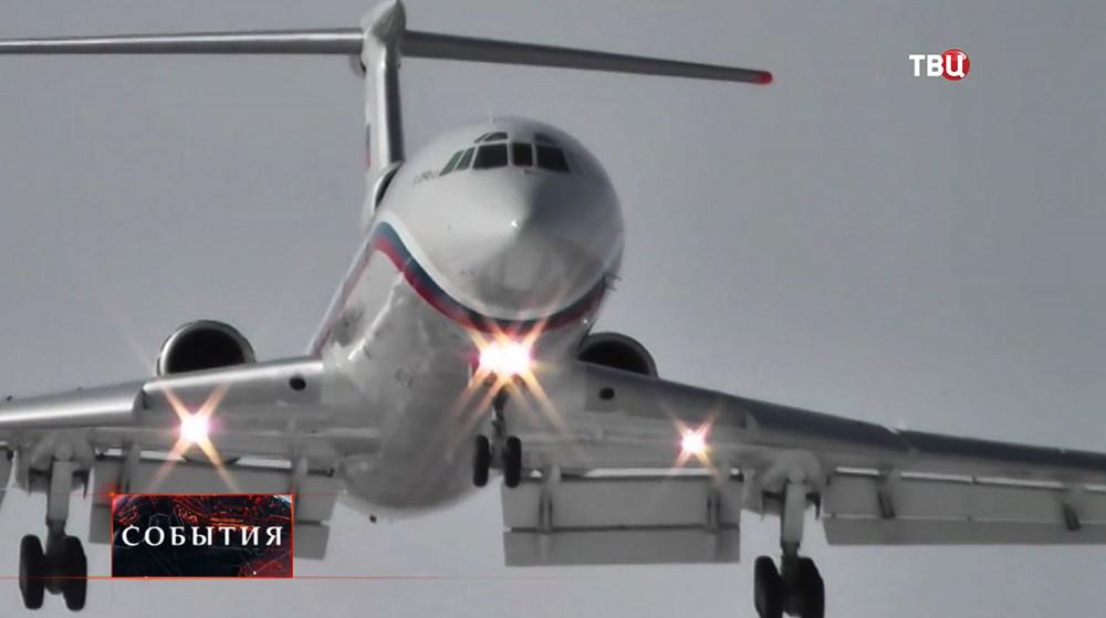 ВМинобороны сообщили обобнаружении тела одного погибшего при крушении Ту-154