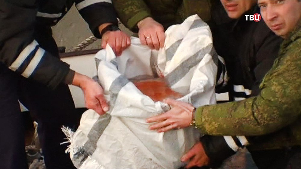 Бортовой самописец самолета Ту-154
