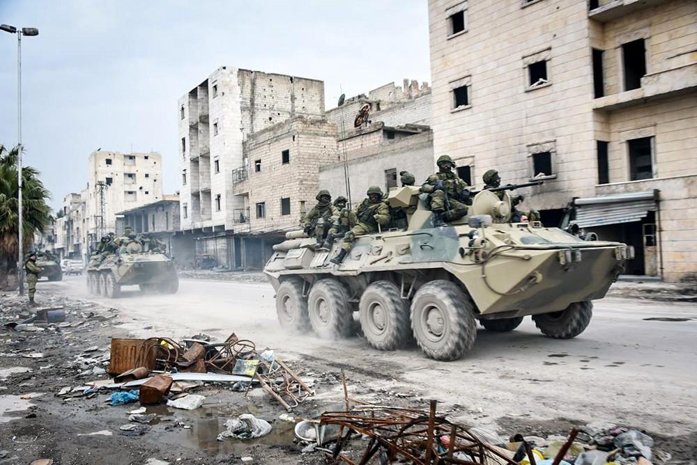 Власти Сирии иоппозиция договорились опрекращении огня— Путин