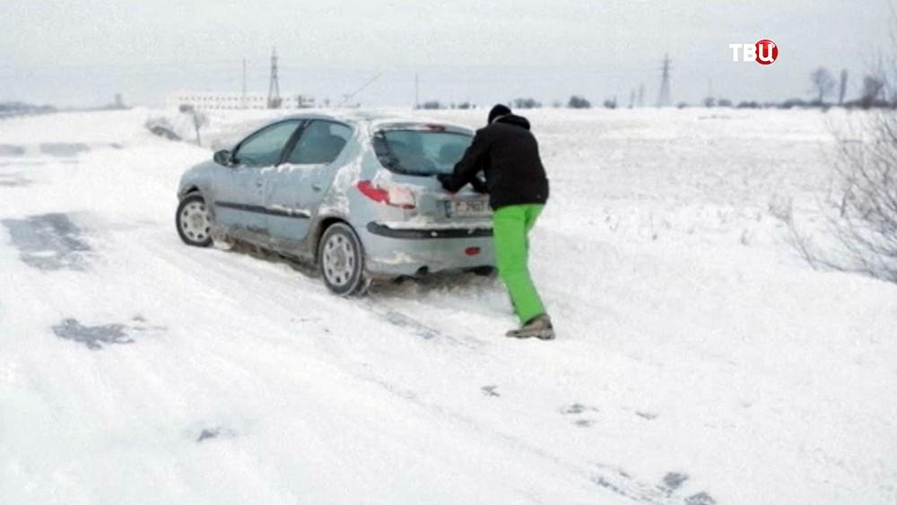 Аномальные морозы в Европе