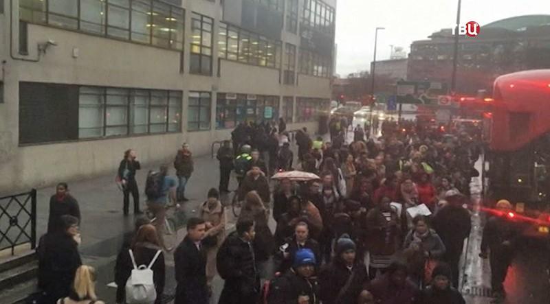Забастовка в Великобритании