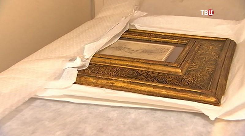 Рисунок Леонардо даВинчи назван общенациональным  достоянием Франции